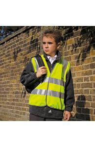 Junior safeguard high-viz vest EN1150 Class 2 approved
