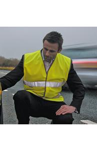 Safeguard motorist safety vest