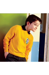 Classic 80/20 kids set-in sweatshirt