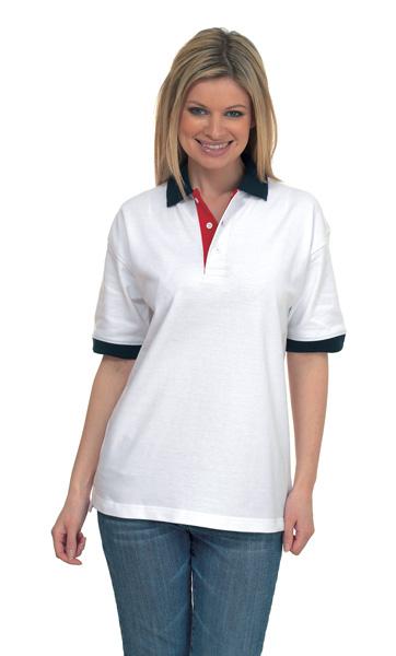 Uneek UC107 Contrast Pique Polo Shirt