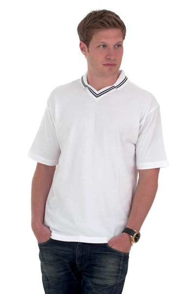 Uneek UC108 Johnny Collar V-Neck Pique Polo Shirt