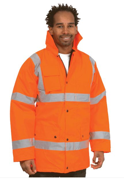 Uneek UC803 Road Safety Jacket (Padded & Lined)