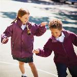 Kids term-time reversible jacket