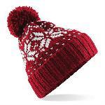 Fair Isle snowstar beanie