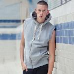 Superstar sleeveless hoodie