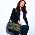 Camo messenger bag