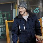Detachable sleeve workwear parka